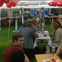 Entspanntes Feiern beim SPD-Sommerfest